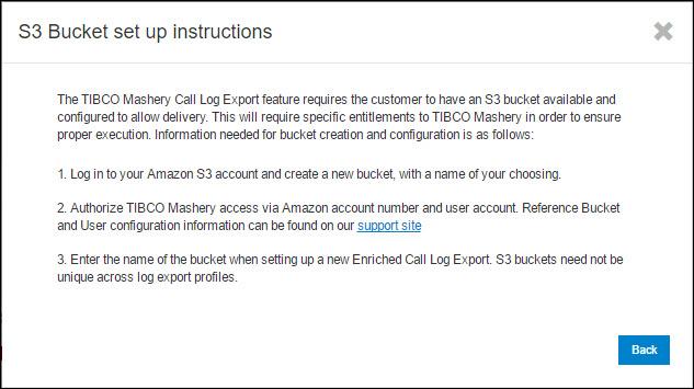 Adding Call Log Export Profiles